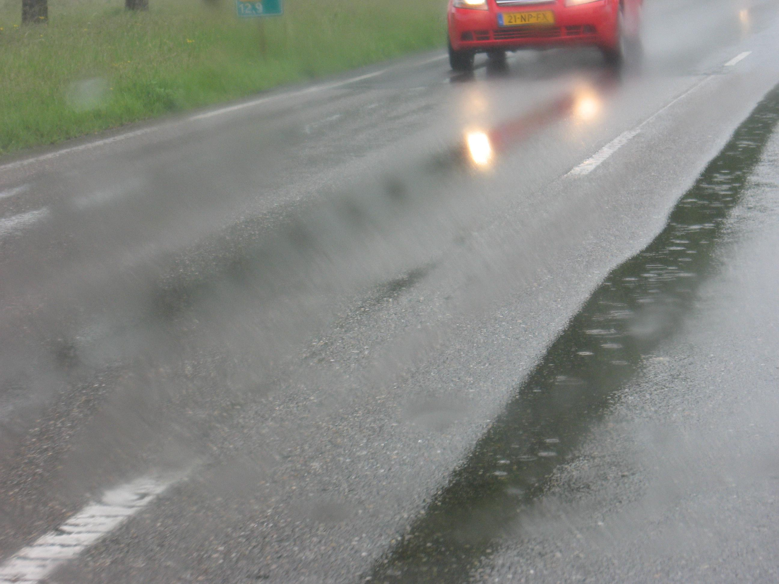 Roadway Hydroplaning – A Framework to Determine Critical