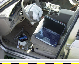 Automobile Crash Event Data Recorder Downloading